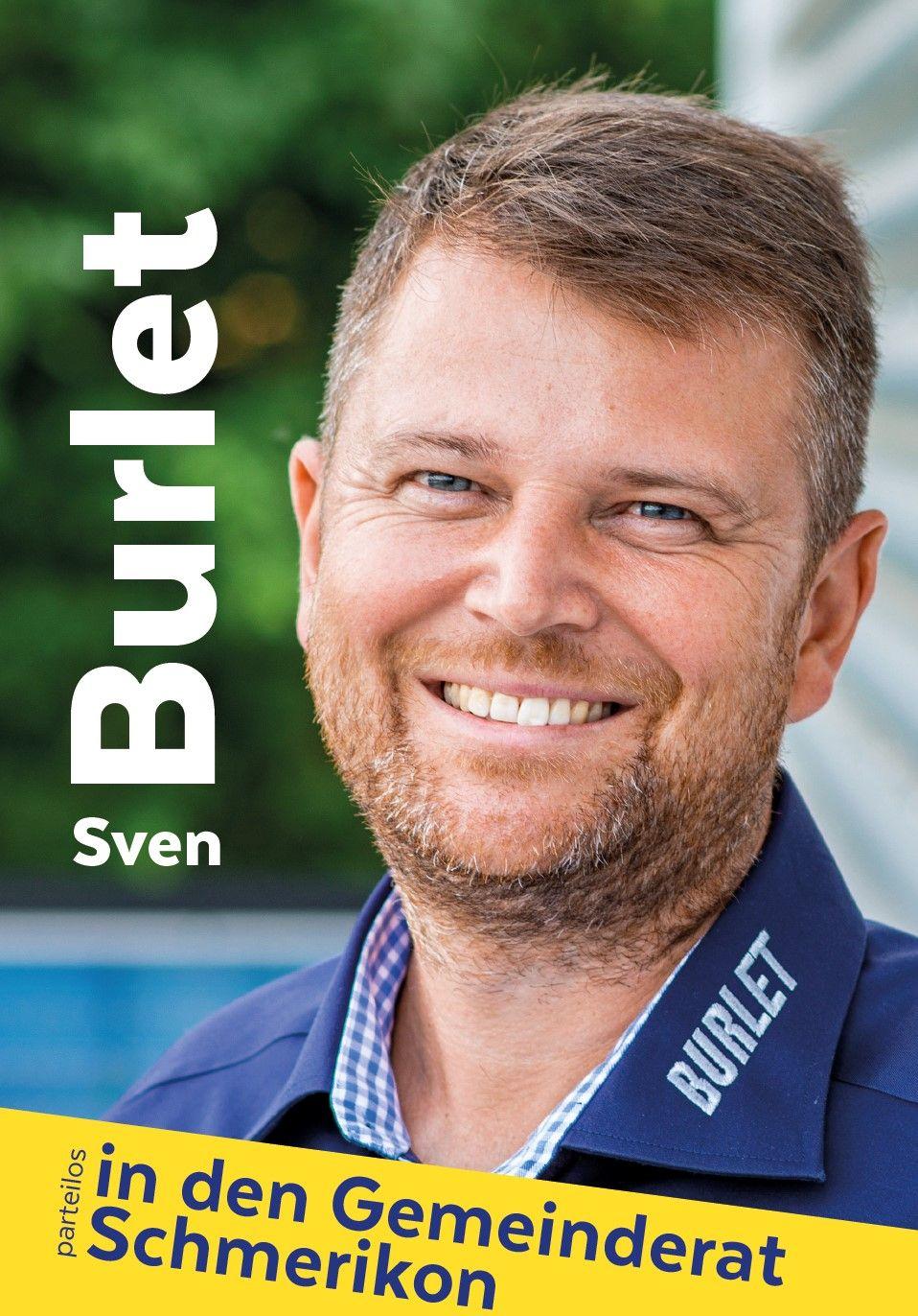 Sven Burlet (parteilos) in den Gemeinderat Schmerikon
