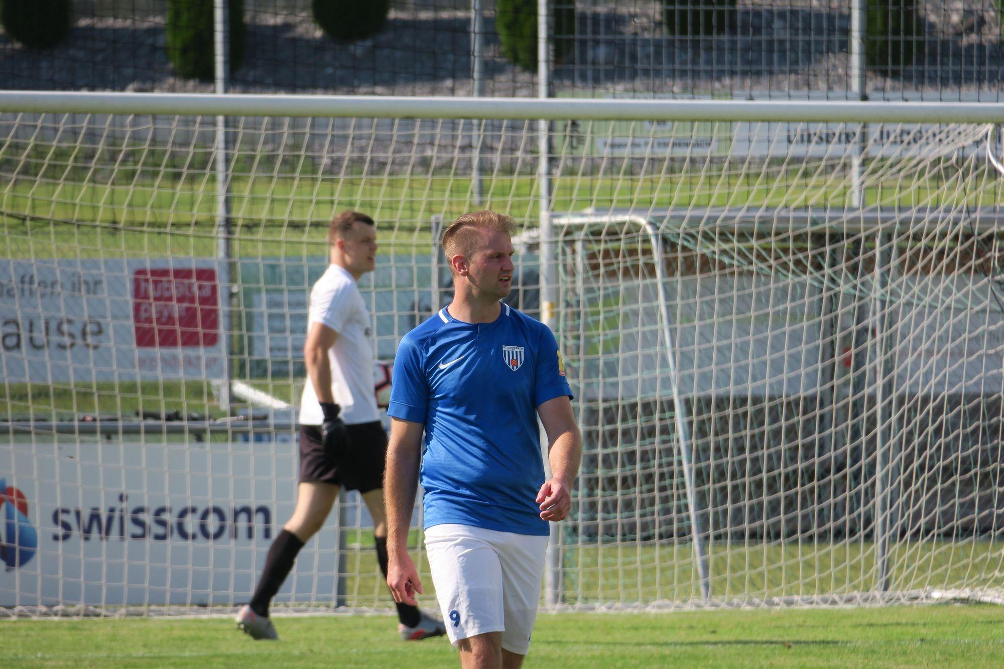 Sandro Vigini am 26.07.2021 gegen den FC Eschenbach (Foto: Thomas Müller, 8716.ch)