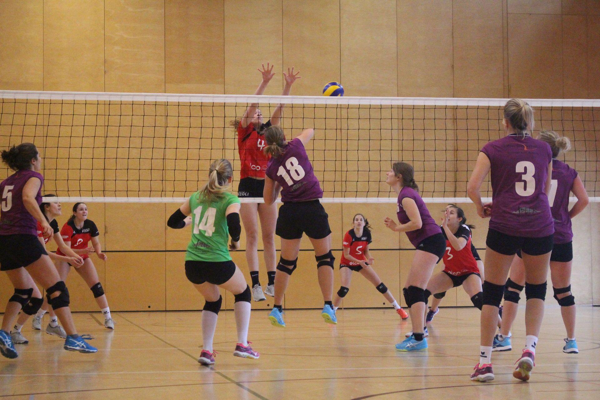 Ein Spieltag für den Volleyballclub Linth