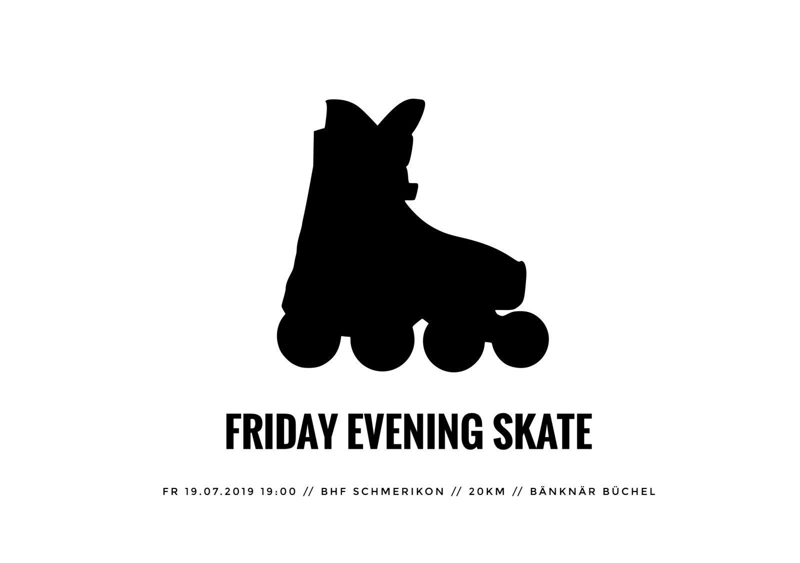 Friday Evening Skate