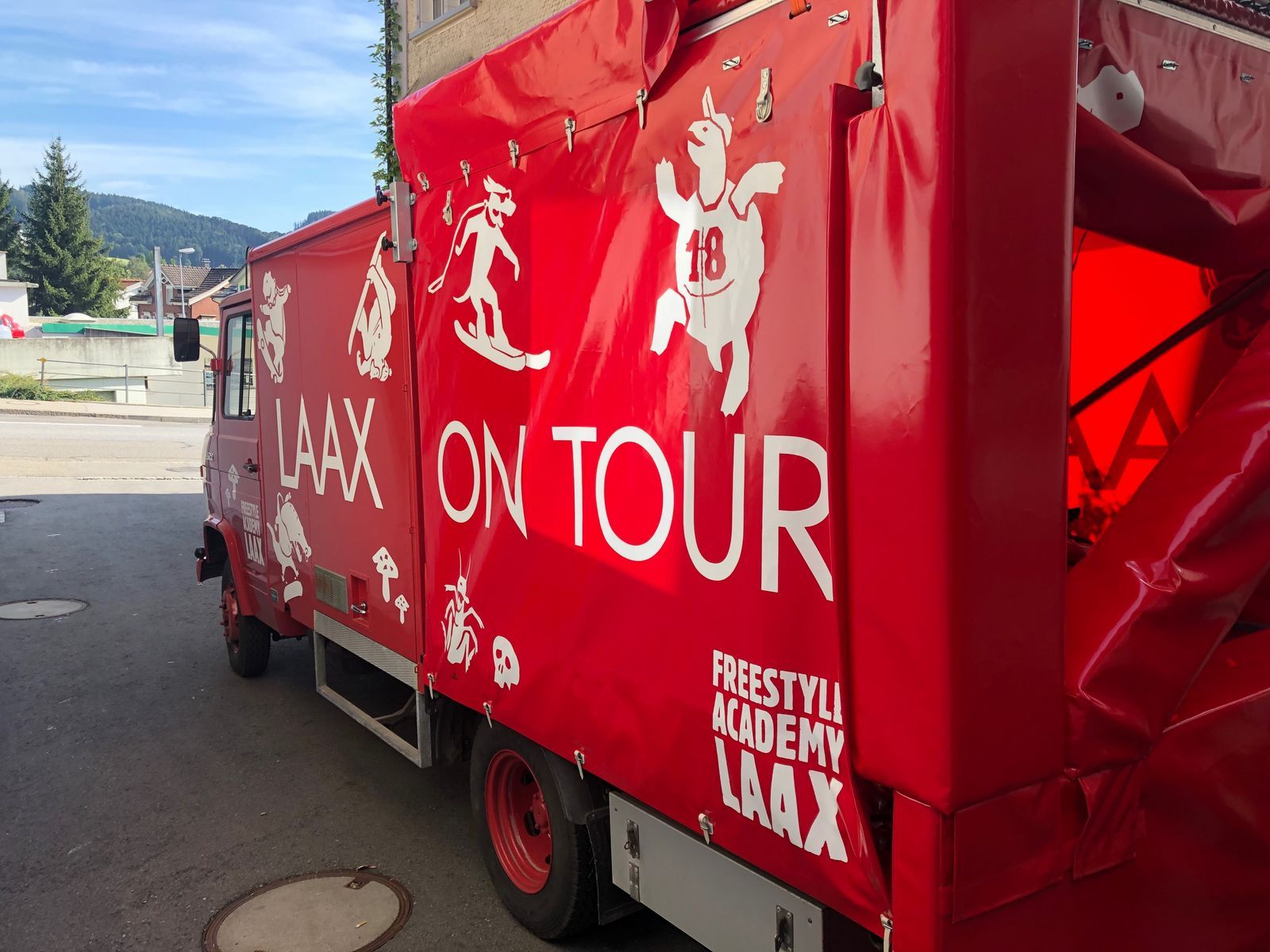 Laax on tour Stop in Schmerikon