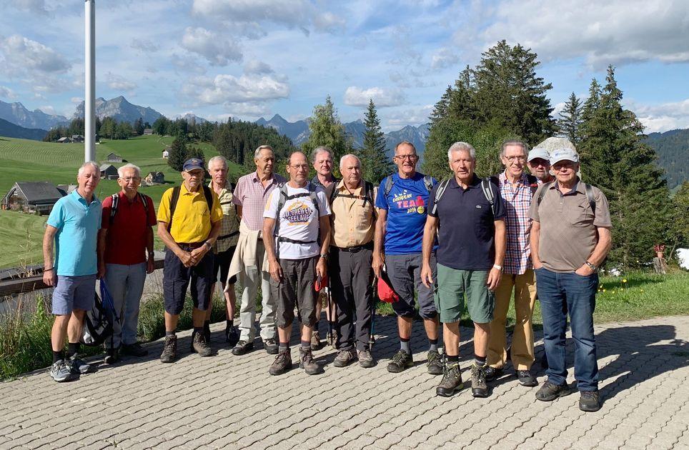 Bergtour der Senioren Männerturner Schmerikon