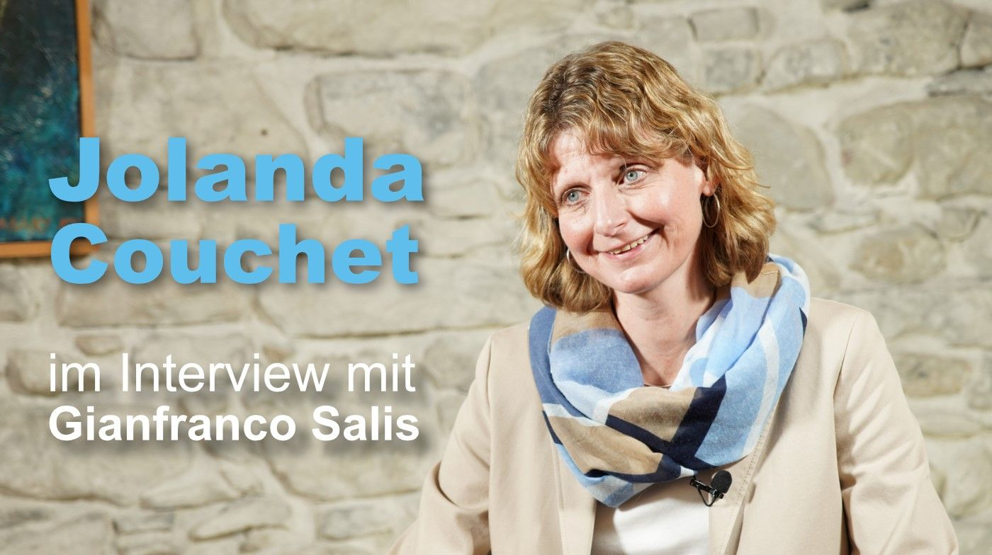 Jolanda Couchet im Interview mit Gianfranco Salis