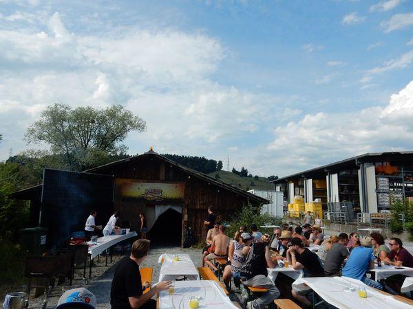 Die Rockfest-Helfer feierten