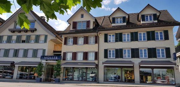 Die Firmengeschichte von Müller Mode Schmerikon