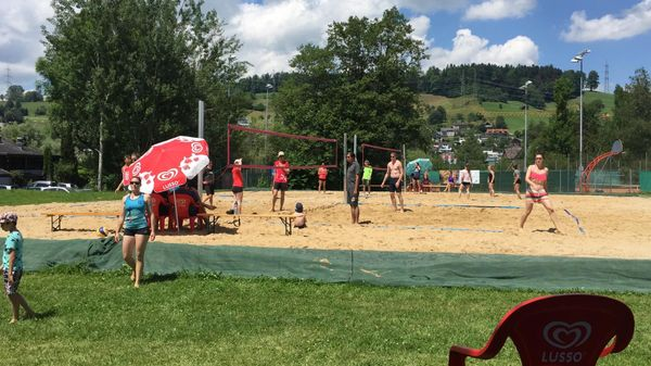Bank Linth LLB Beachvolleyball-Turnier 2019