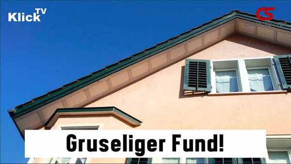 Gruseliger Fund in Schmerikon